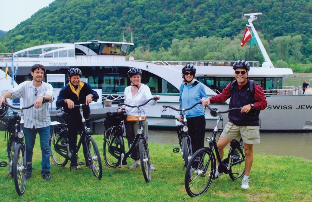 Tauck - Biking near Durnstein