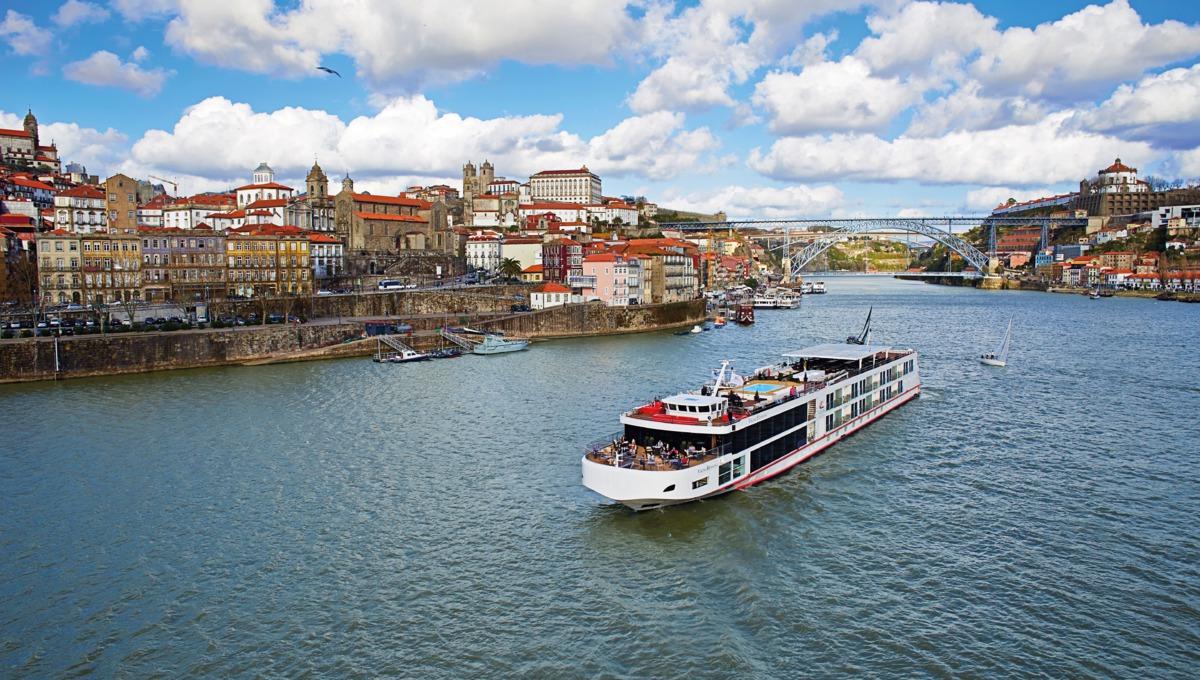 Viking Douro ship in Porto