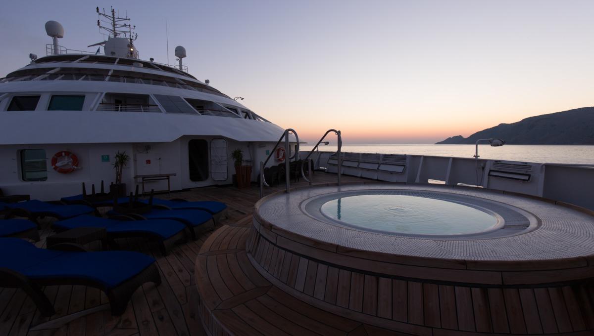 Windstar Cruises - Star Breeze Jacuzzi