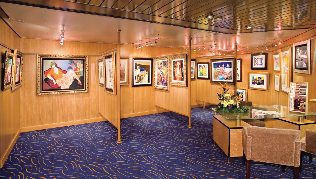 Holland America Line cruises - MS Maasdam art gallery