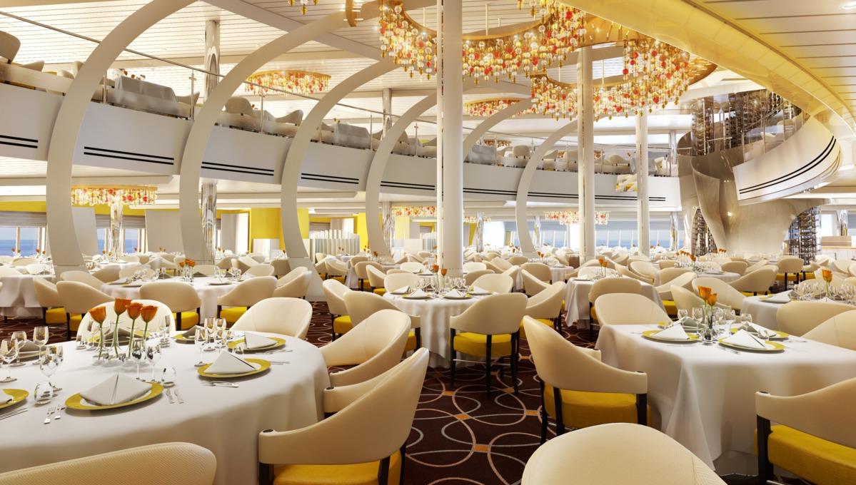 Holland America Line cruises - MS Koningsdam main dining room