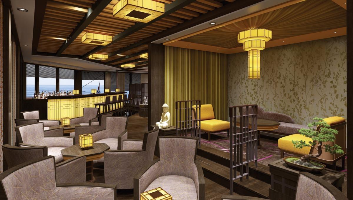 Holland America Line cruises - MS Koningsdam Tamarind restaurant