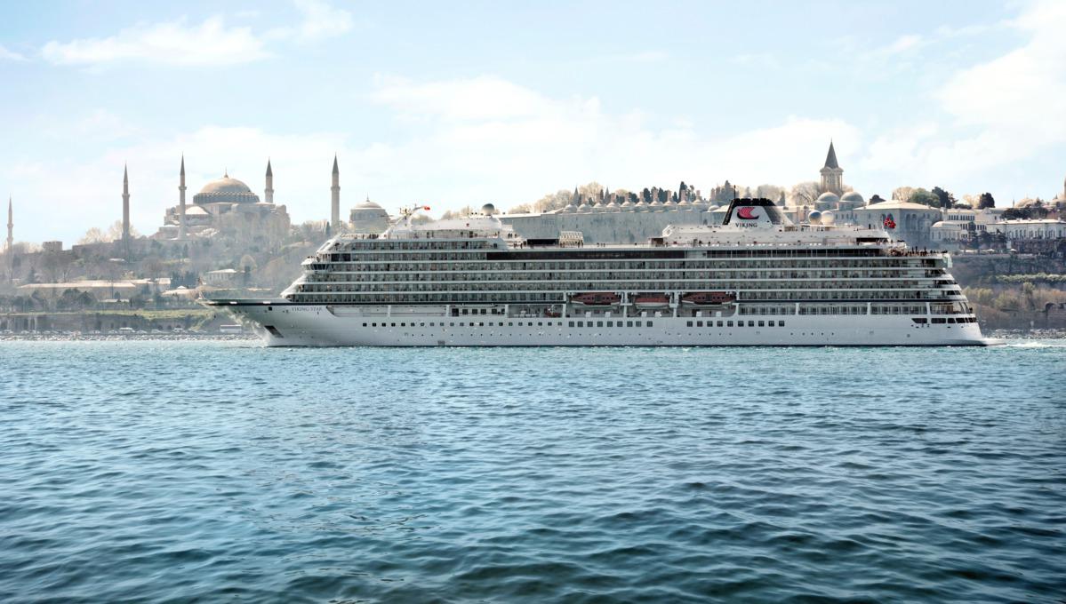 Viking Ocean Cruises - Viking Star in Istanbul