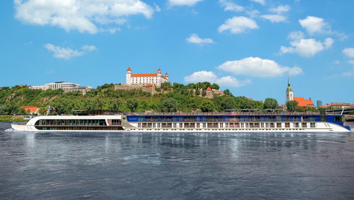 River cruising - AmaCerto in Bratislava, Slovakia