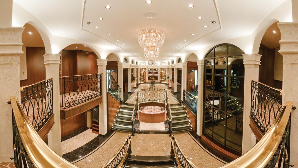 Tauck River Cruises - Inspiration Class lobby