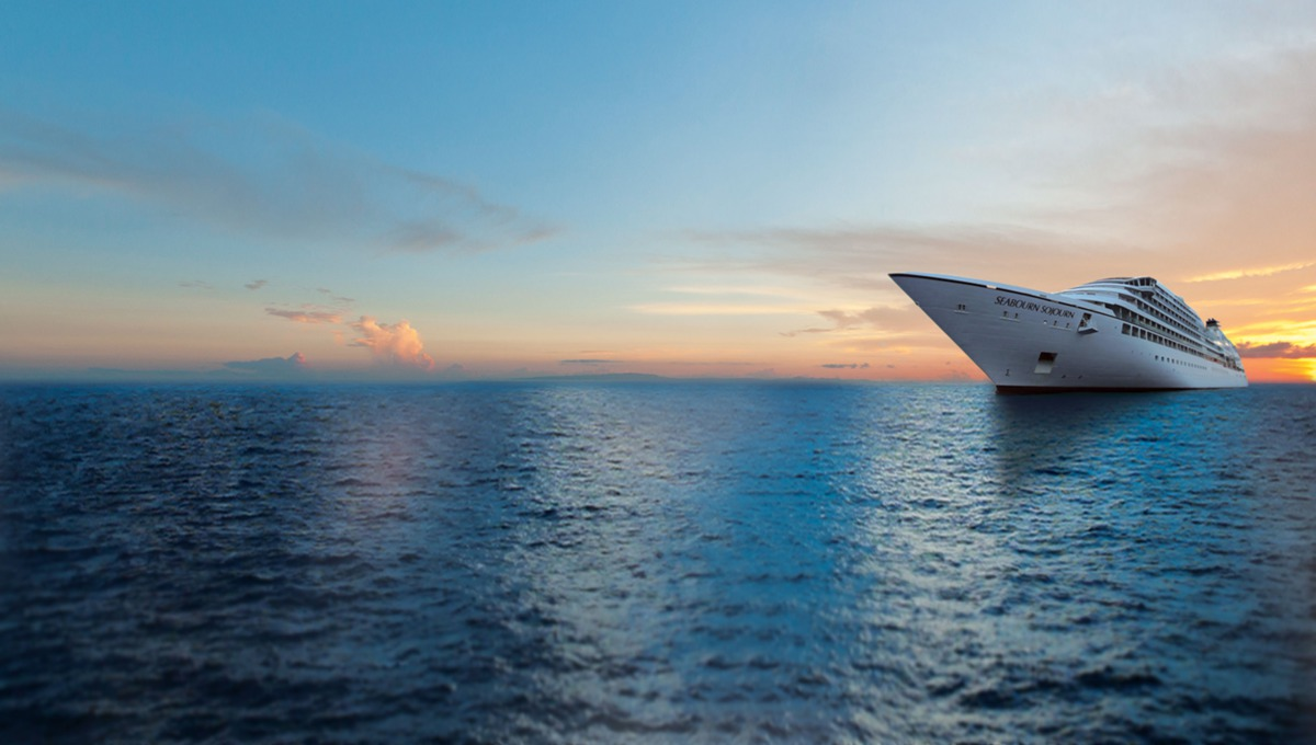 What to expect on a luxury cruise (image of Seabourn Sojourn)