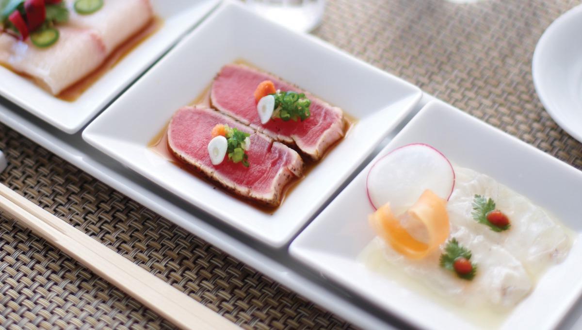Crystal Serenity review: Nobu sushi trio at Silk Road