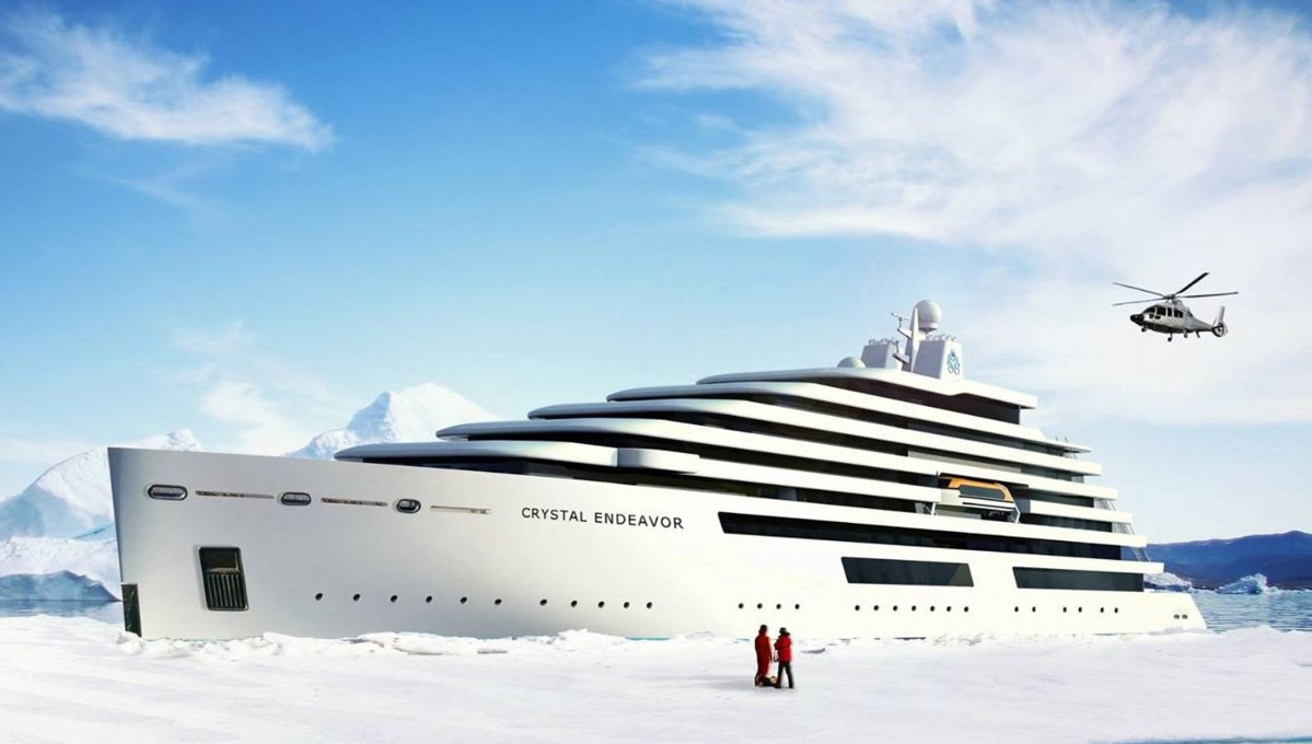 Crystal Endeavor, part of the next generation of adventure cruise ships