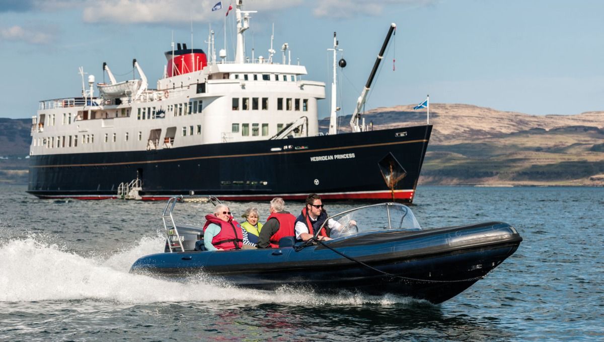 Hebridean Princess, as featured in Hayley's cruise review