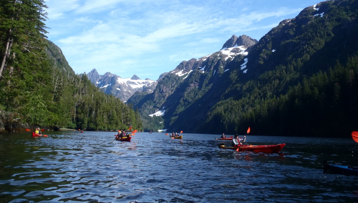 Un-Cruise Adventures - Kayaking in Alaska