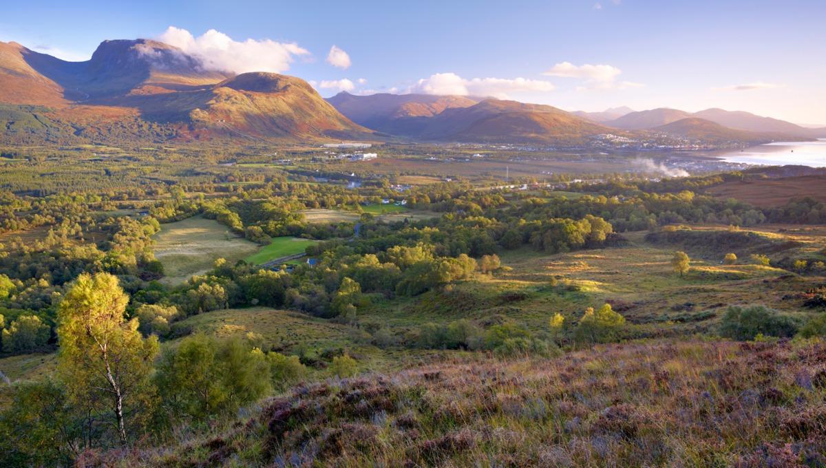 The Scottish Highlands, featured on many British Isles cruises