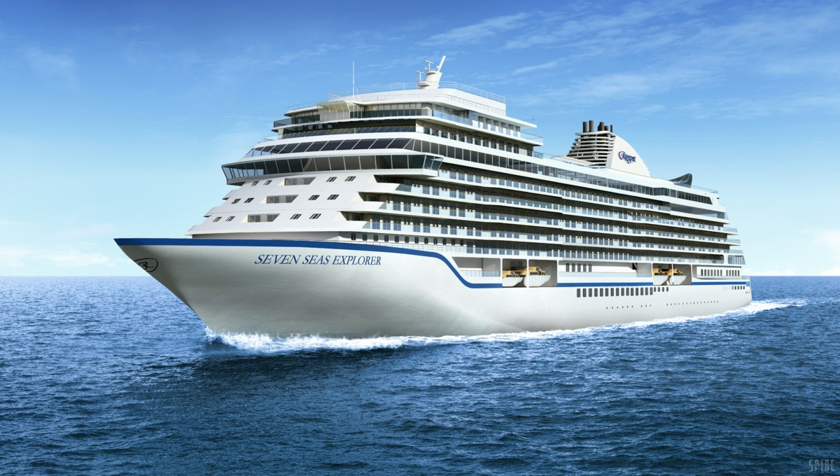 Regent's new luxury cruise ship, the Seven Seas Explorer