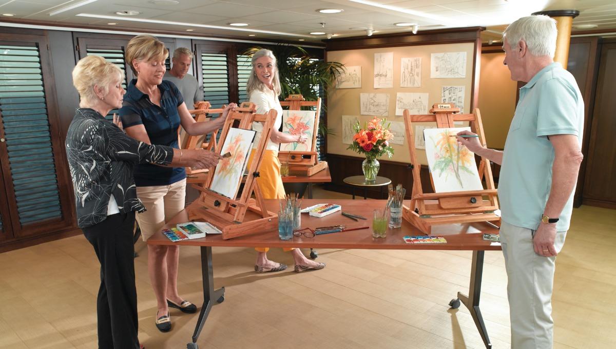 Oceania Cruises - Artist loft