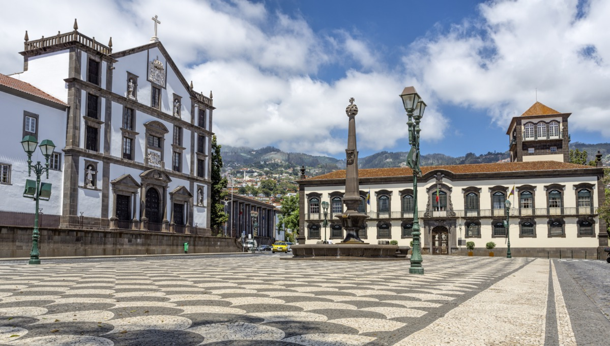 Madeira cruise review - Funchal city hall