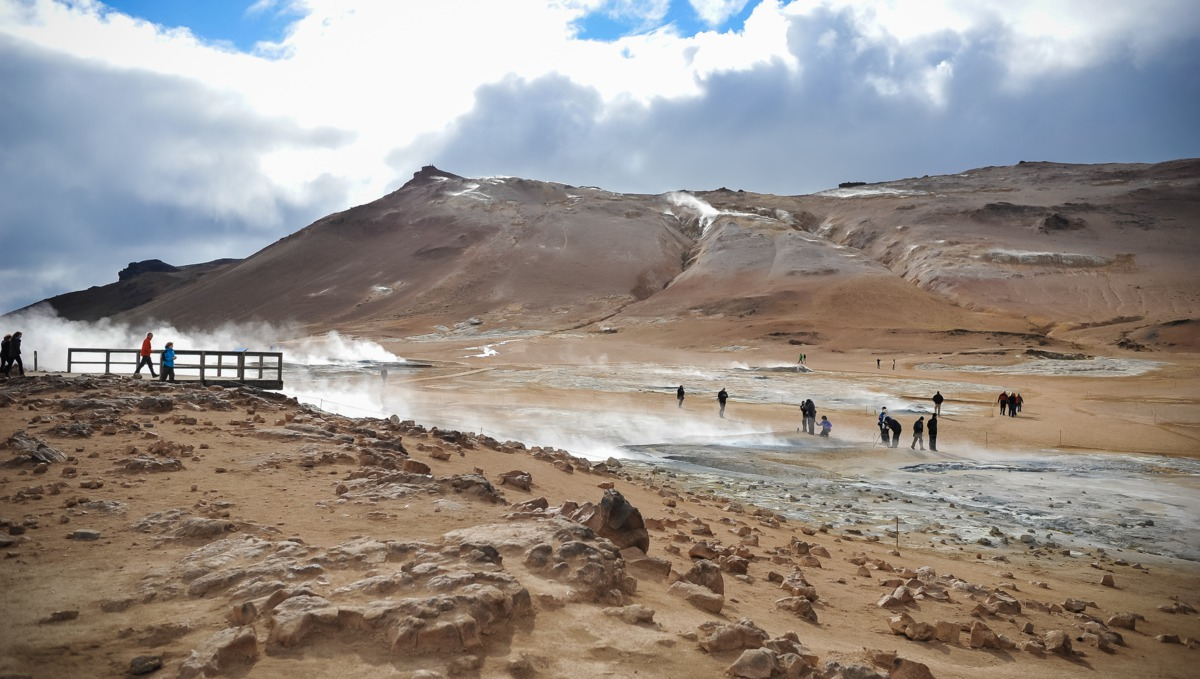 Iceland cruises - Geysir Valley