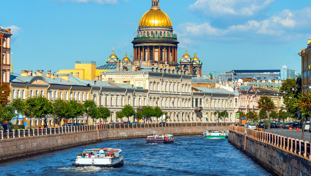 World's longest cruise highlights - St Isaac Cathedral, St Petersburg