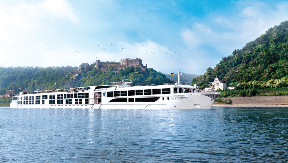 Uniworld cruise on the river Rhine
