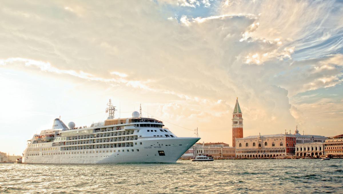 Silversea - Silver Wind in Venice