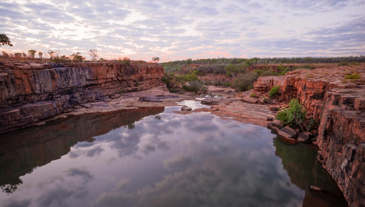 Bindoola Gorge in the Kimberley, Australia