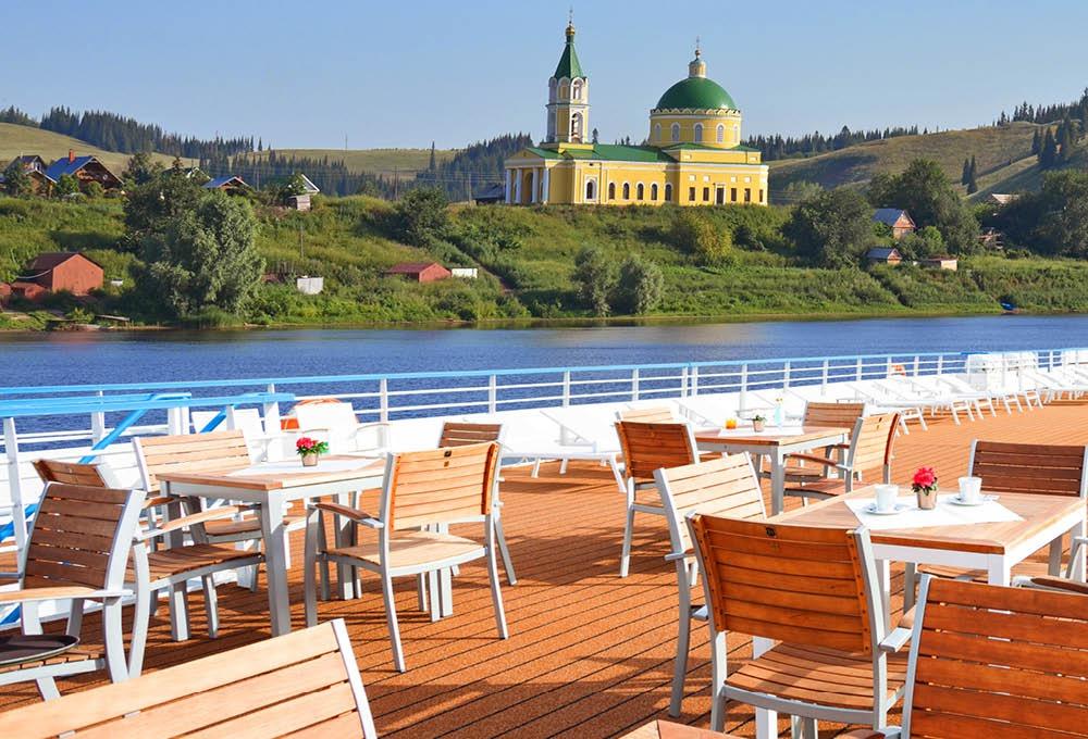 Scenic Tsar - Sun deck