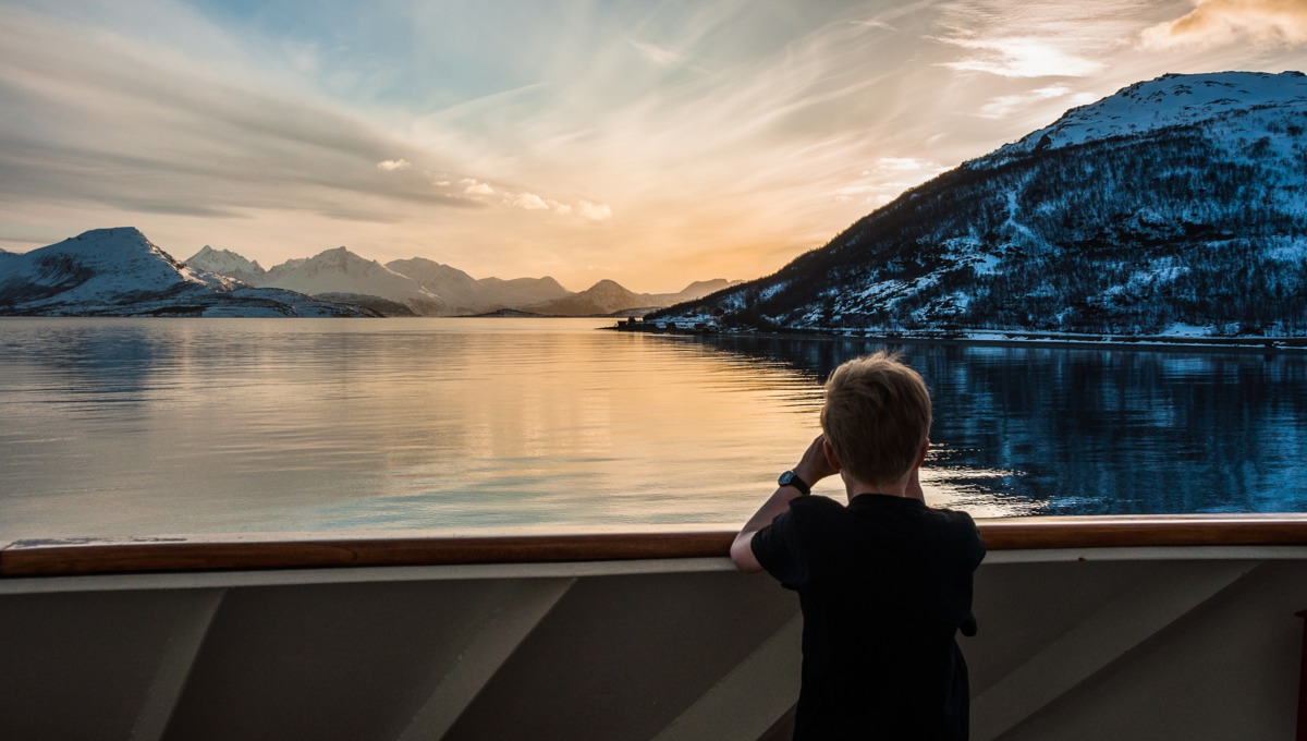 Family adventure holidays - Hurtigruten expedition cruise