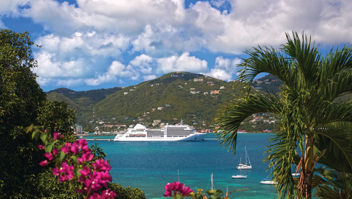 Silversea - Silver Spirit in Tortola