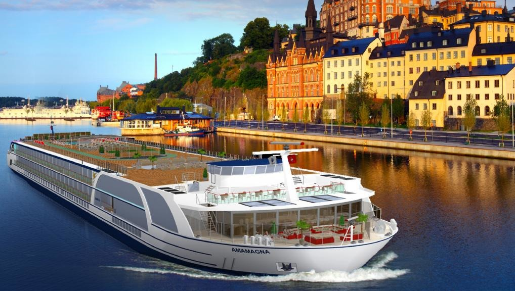 AmaMagna, AmaWaterways' new ship on the river Danube