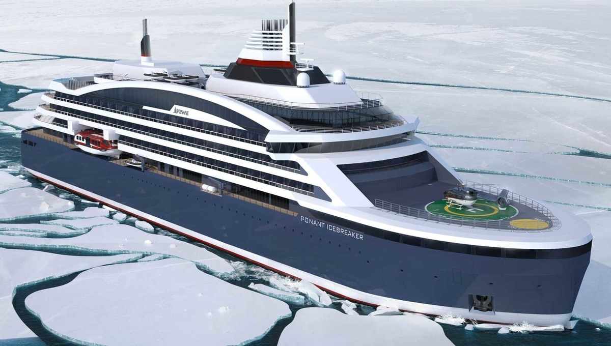 Ponant's Icebreaker, one of five new ships in the pipeline