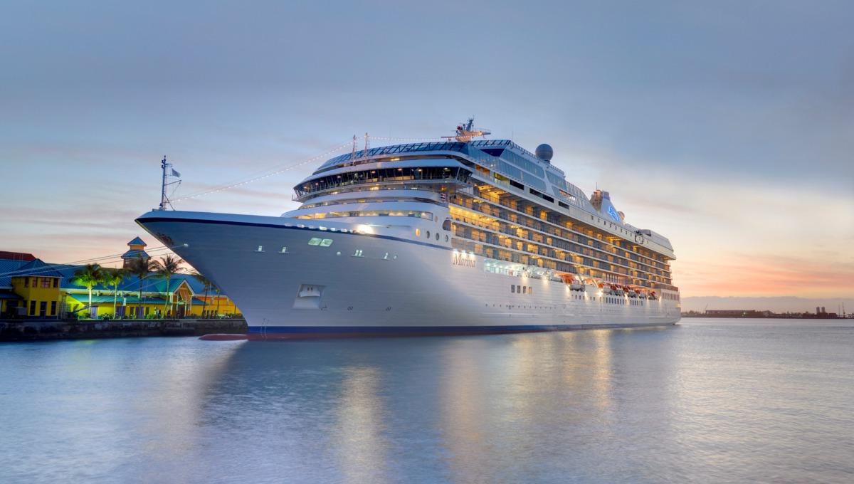 Marina in port
