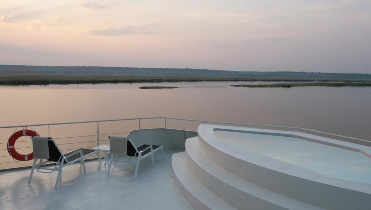 Zambezi Queen Sundeck Pool