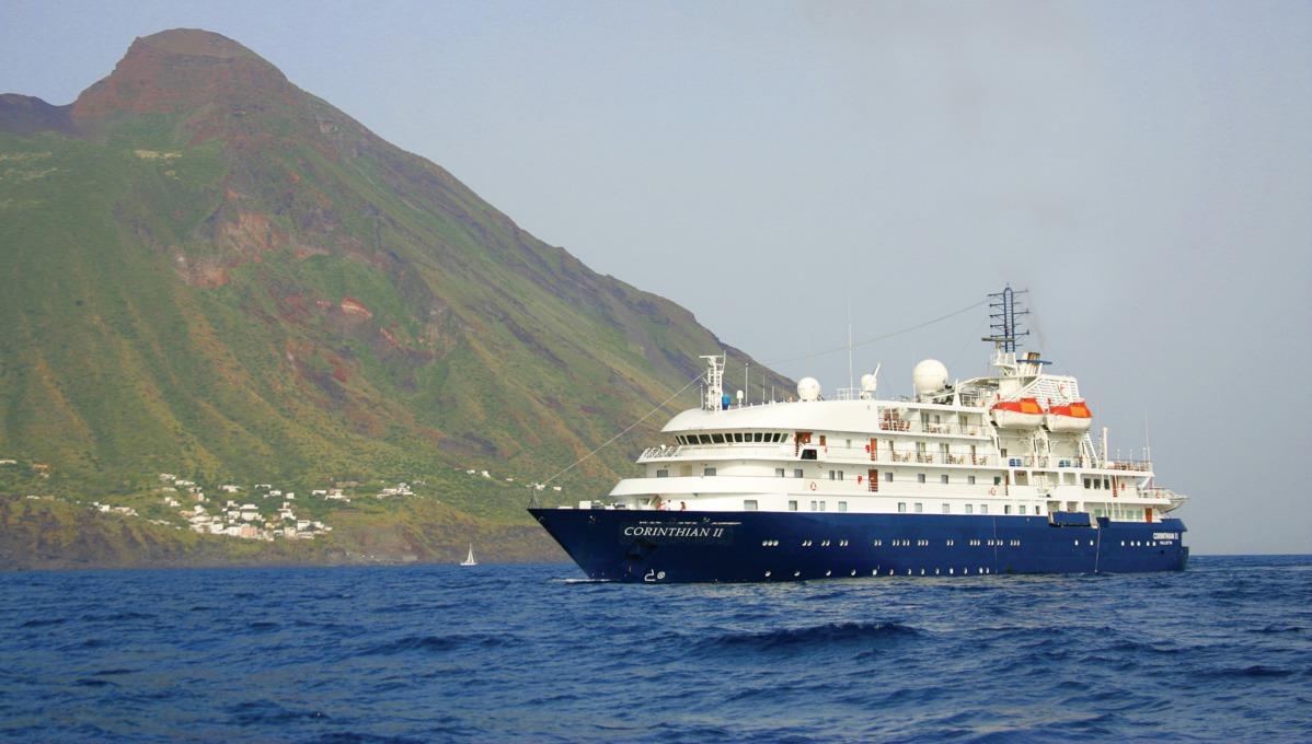 Sea Explorer at sea