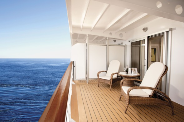 Regent Seven Seas Explorer - Concierge Suite balcony