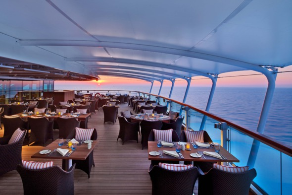 Seabourn Encore - The Colonnade