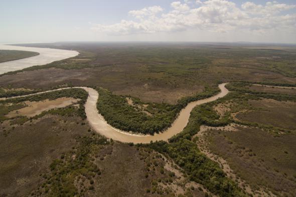 Countryside around Darwin, Australia