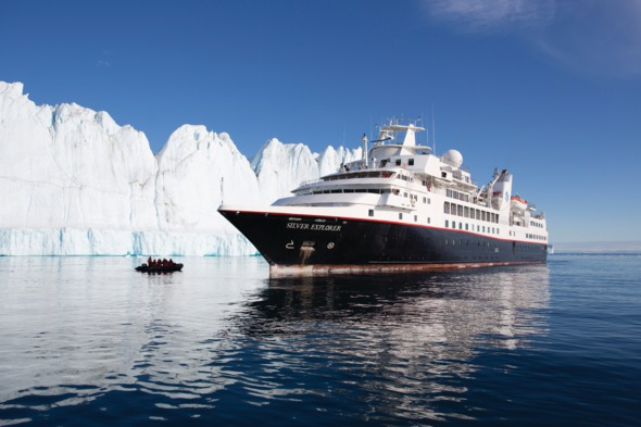 Silversea Expeditions - Silver Explorer in Greenland