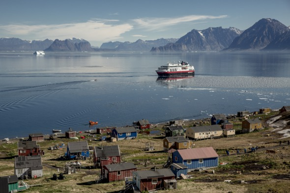 Hurtigruten - Fram in Greenland