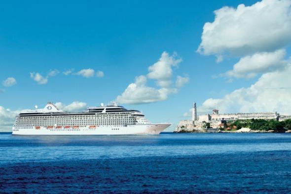 Oceania Cruises Marina in Havana, Cuba