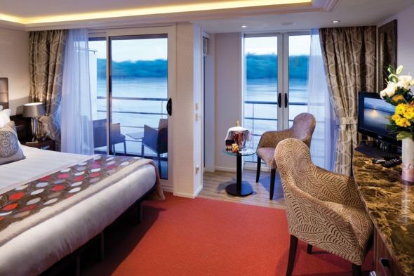 AmaPrima - Twin Balcony Stateroom
