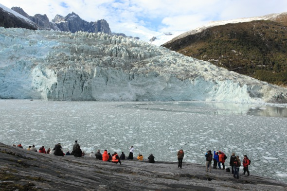 Pia Glacier in Patagonia, Chile