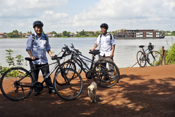 Aqua Mekong - Cycling excursion