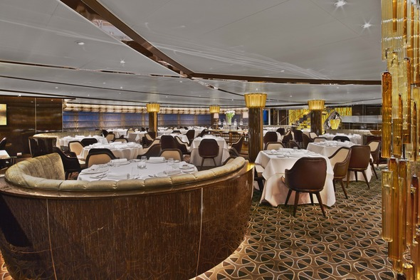 Seabourn Encore - The Grill by Thomas Keller restaurant