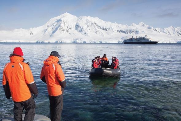 Silversea's Silver Explorer in Antarctica