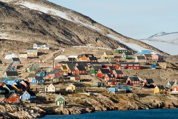 Ittoqqortoomiit village, Greenland