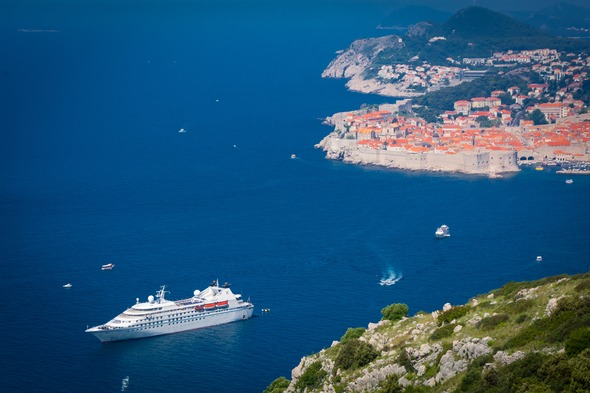 Windstar Cruises - Star Legend in Dubrovnik