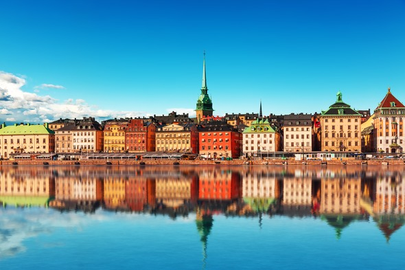 The Gamla Stan in Stockholm, Sweden