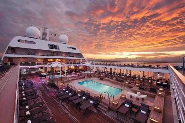 Seabourn pool deck