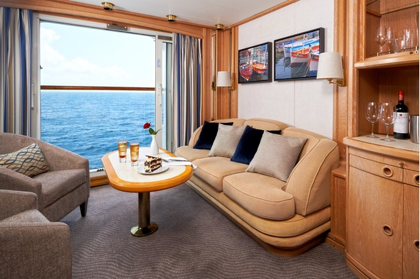 Windstar Cruises - Star Pride Balcony Suite