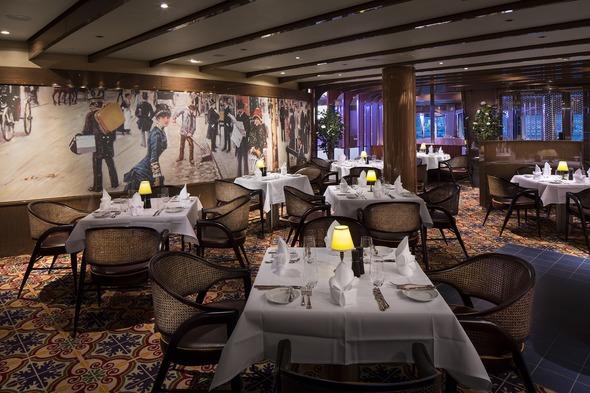 Holland America Line - MS Koningsdam Sel de Mer restaurant
