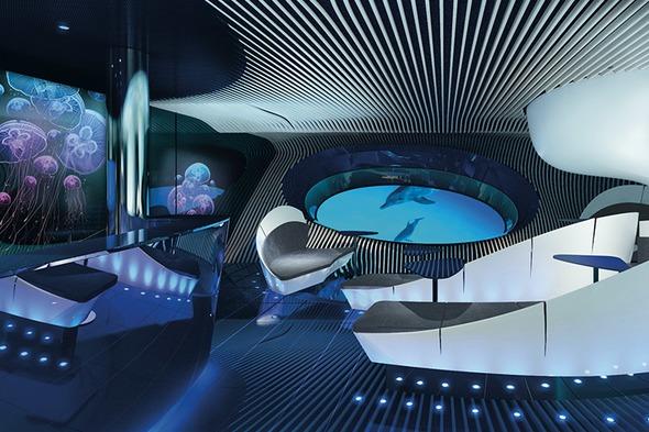 Ponant Explorers - Blue Eye Lounge