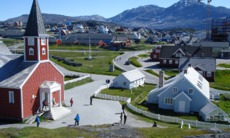 Church in Nuuk, Greenland